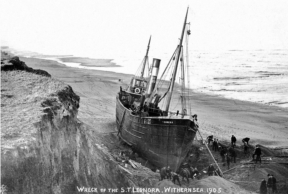 Leonora 1905 at Withernsea